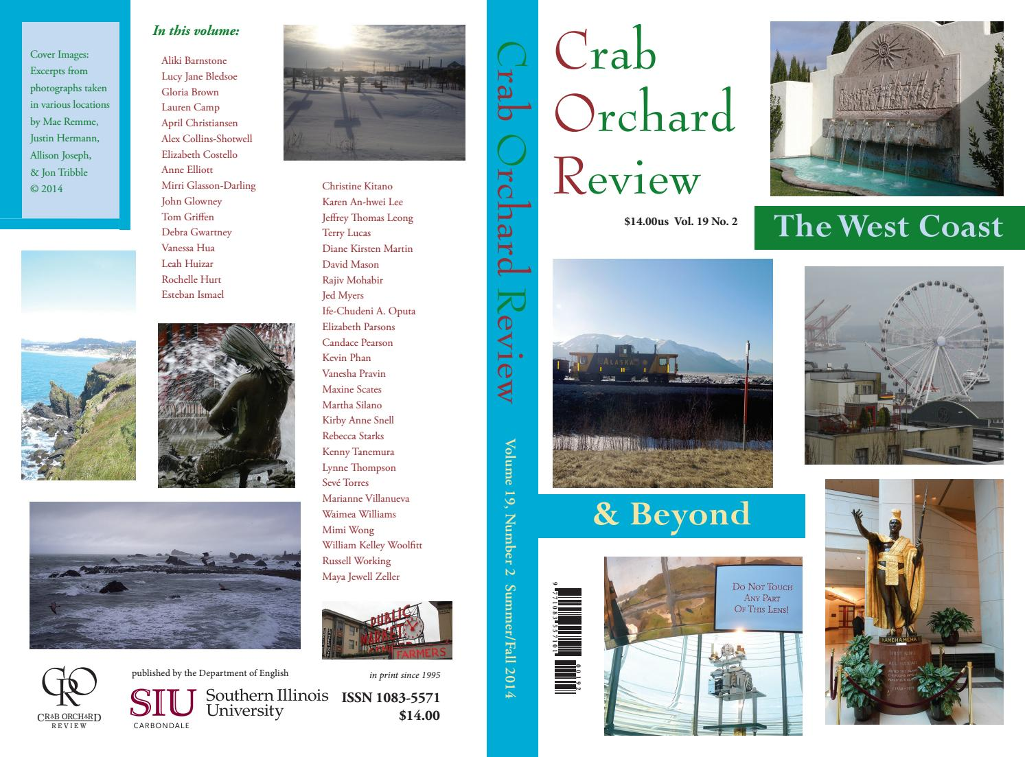Crab Orchard Review Vol 19 No 2 S F 2014 By Issuu Clarette Sneakers Cia Brown