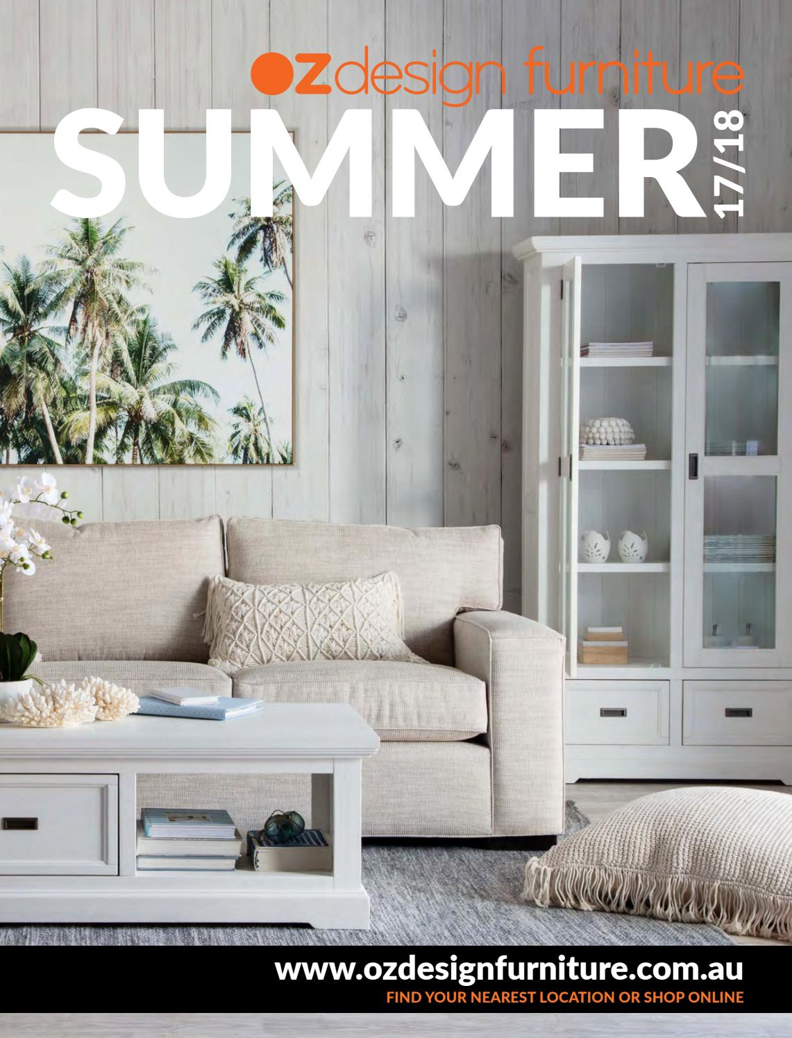 oz furniture design. OZ Design Furniture Summer 17/18 Directory By Oz - Issuu N