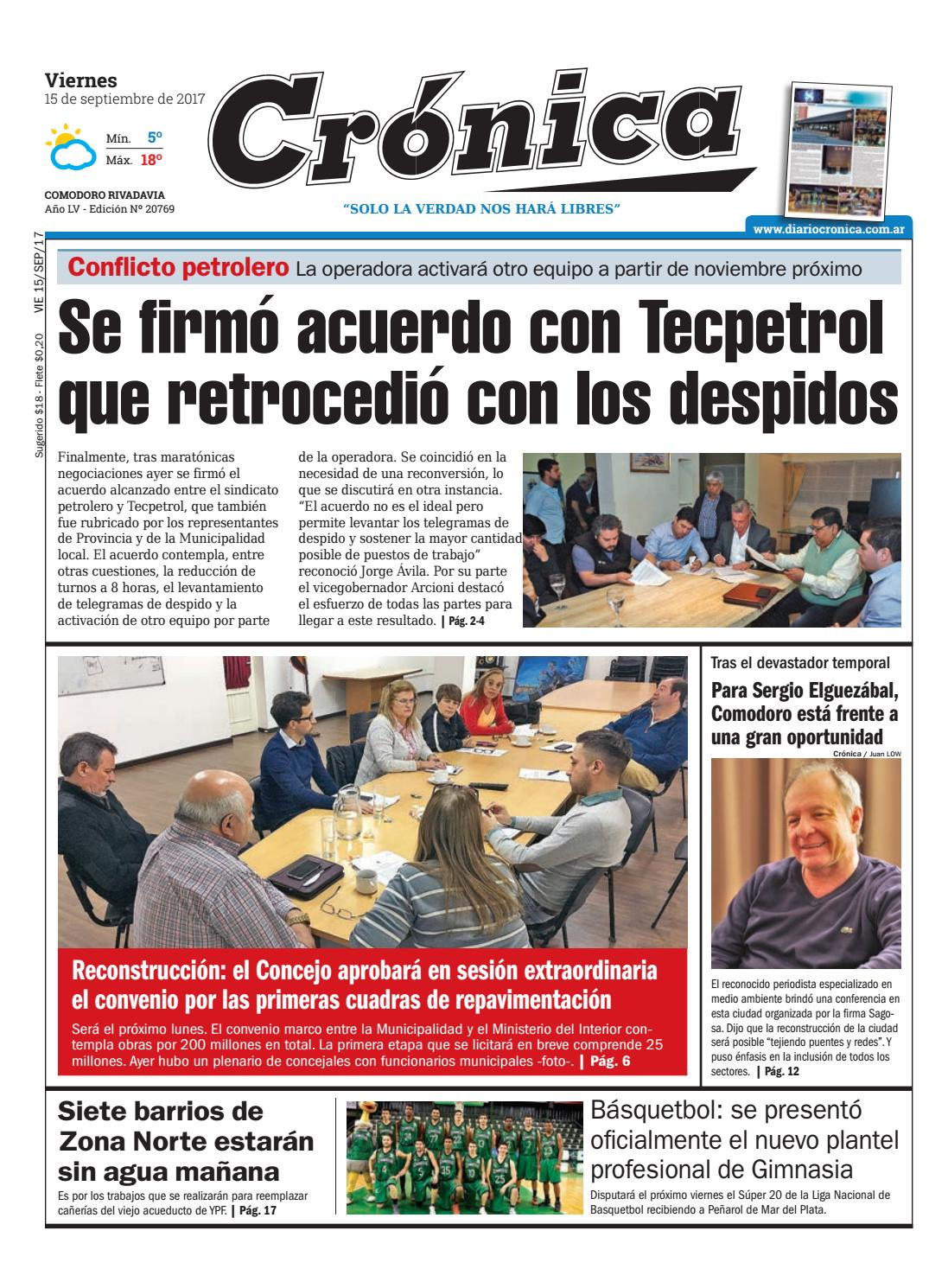 Ea740a6916cad328c260f396bee29551 by Diario Crónica - issuu
