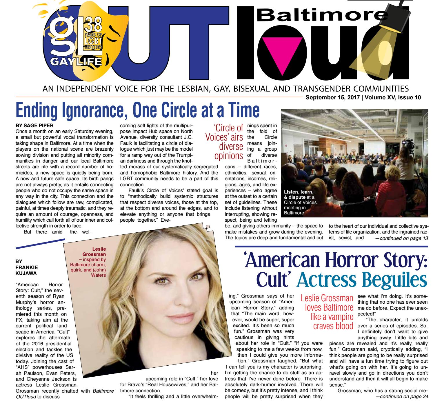 Baltimore OUTloud • September 15, ...