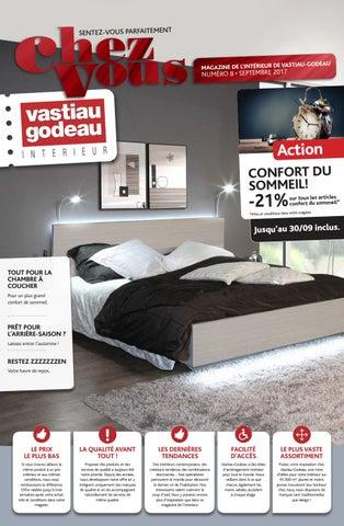 e2867a50ded Magazine de l intérieur Vastiau-Godeau (septembre 2017)
