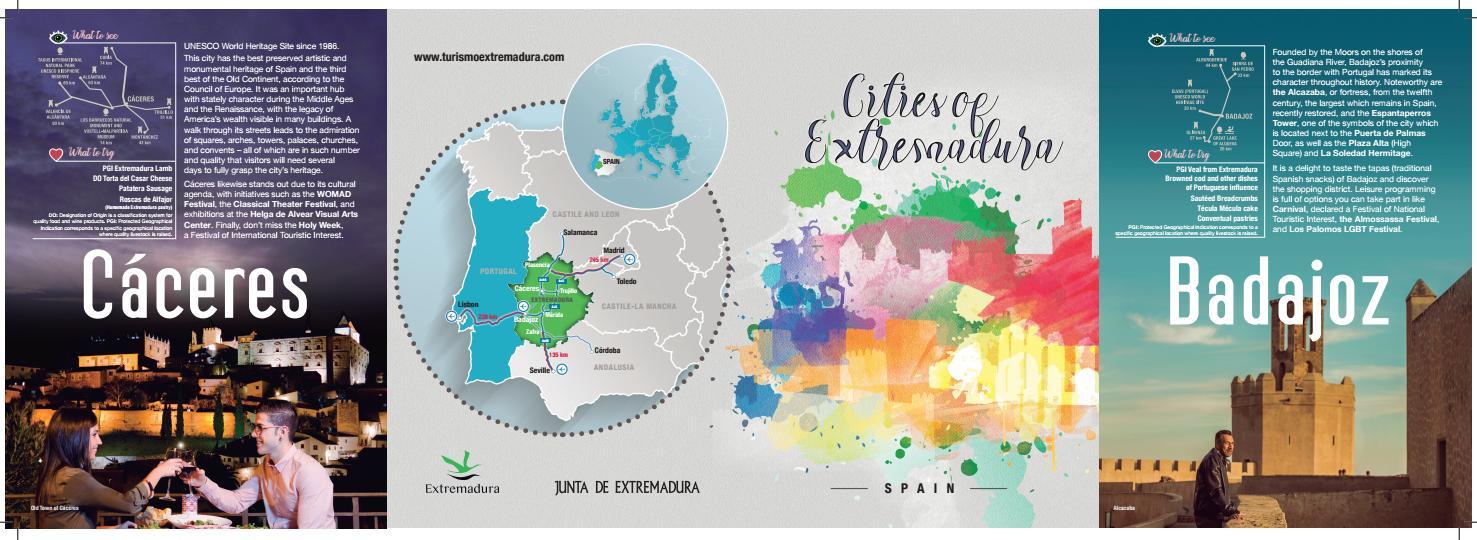 Cities of Extremadura by Extremadura Turismo issuu