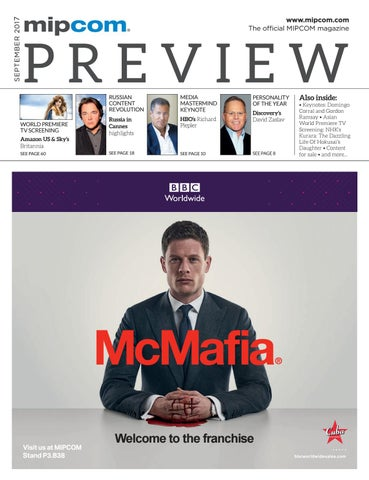 Mipcom 2017 preview magazine by MIPMarkets - issuu