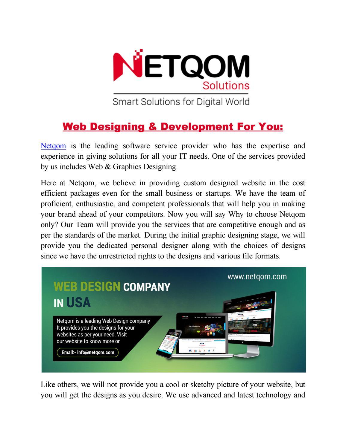 Web Design Company In Usa Pdf By John Graham Issuu
