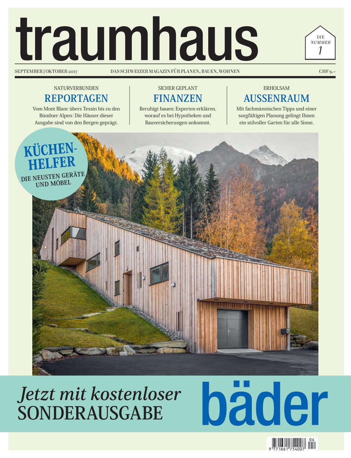 traumhaus 04 2017 by bl verlag ag issuu. Black Bedroom Furniture Sets. Home Design Ideas