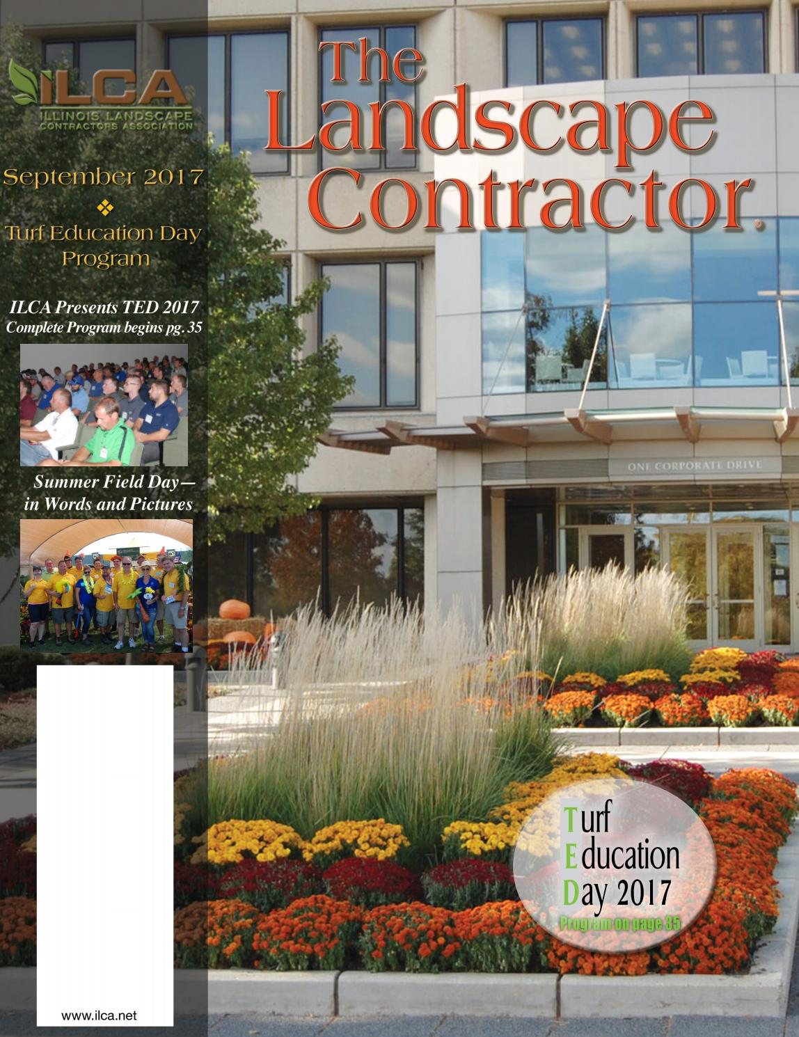 Midwestlandscape Garden Design: The Landscape Contractor Magazine September 2017 Digital