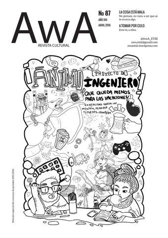 Awa 87 by AwA ETSII - issuu