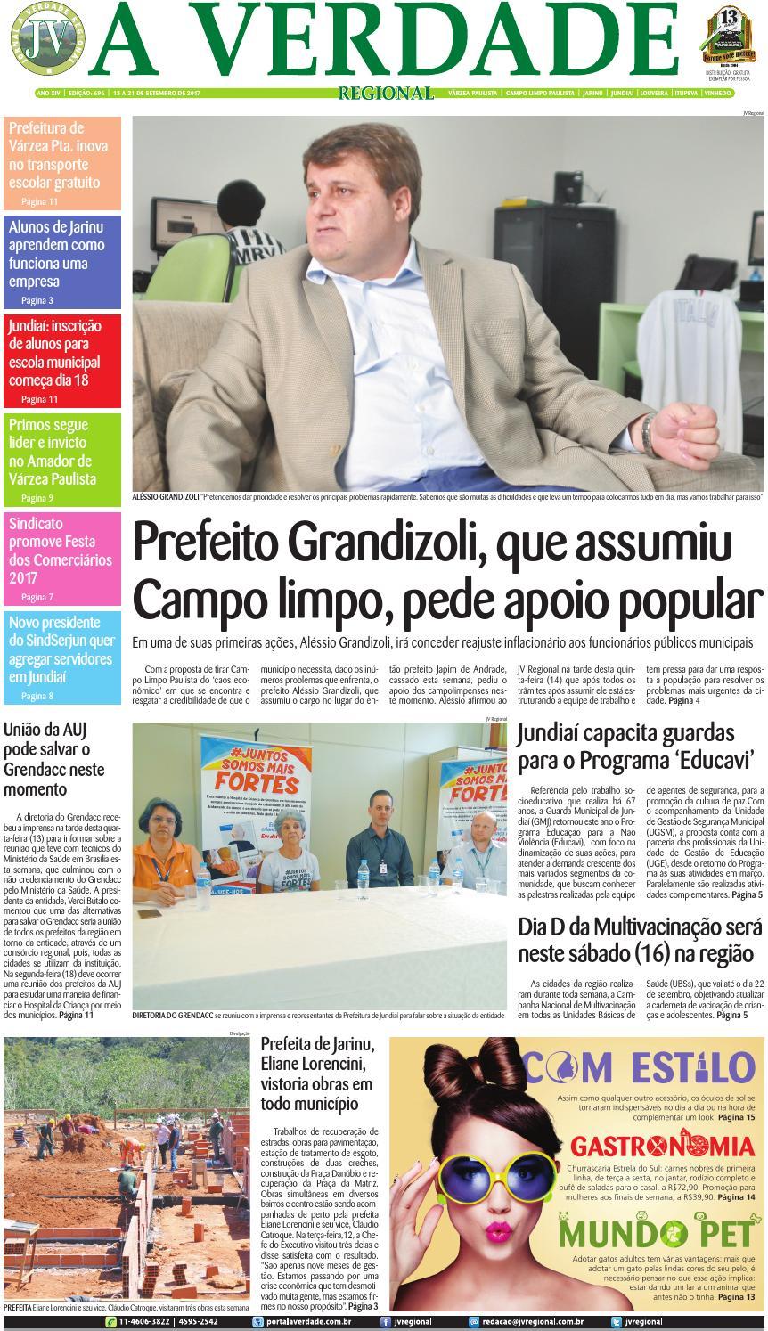 JV Regional ® - Edição 696 by Jornal A Verdade Regional - issuu 43c54a0038