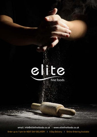 Elite fine foods by Elite Foodservice - issuu