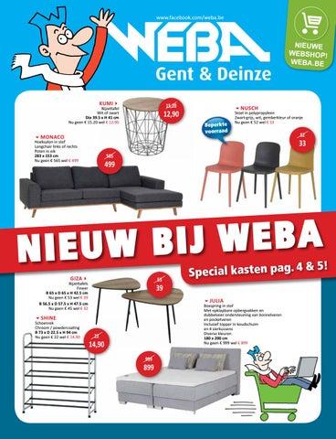 Nieuw bij WEBA - Special kasten by WEBA Meubelen - issuu