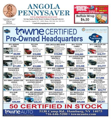 9/17/17 Angola Pennysaver by Angola Pennysaver - issuu