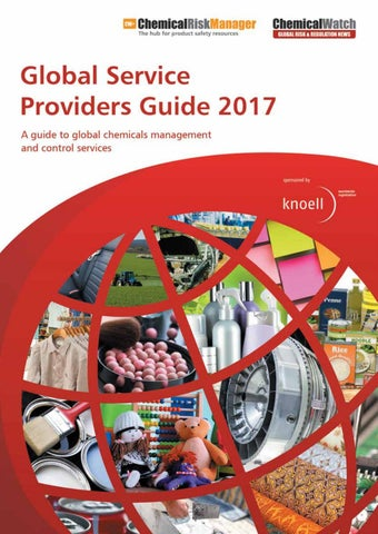 Global service providers guide 2017 by chemical watch issuu expert advice for your global markets are you in need of a clear picture about the global trends in chemical policies here comes a conference dedicated to fandeluxe