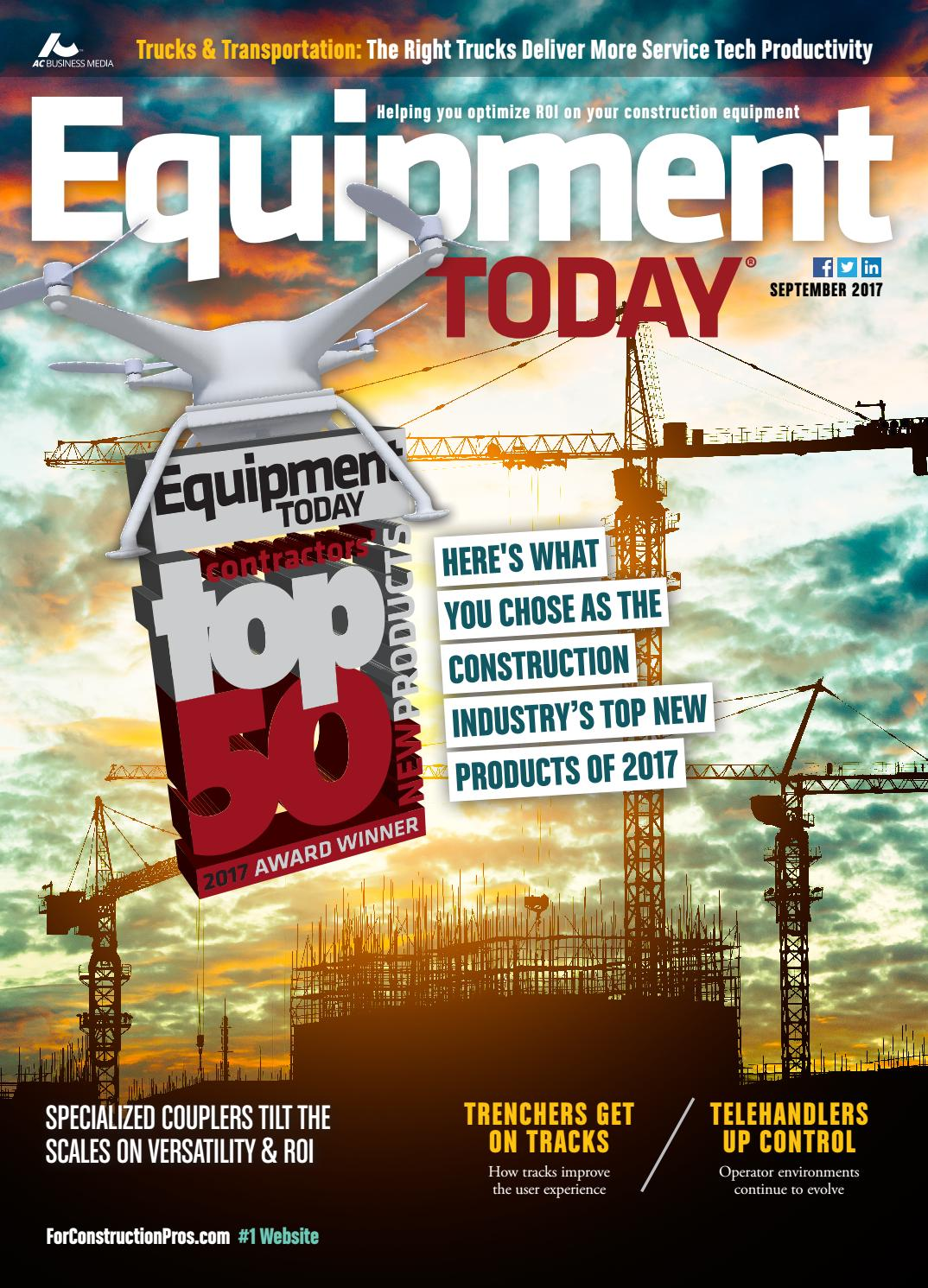 Equipment Today September 2017 By Forconstructionproscom Issuu Alliance Hd 73 Antenna Rotor With Control 2 Sets Of