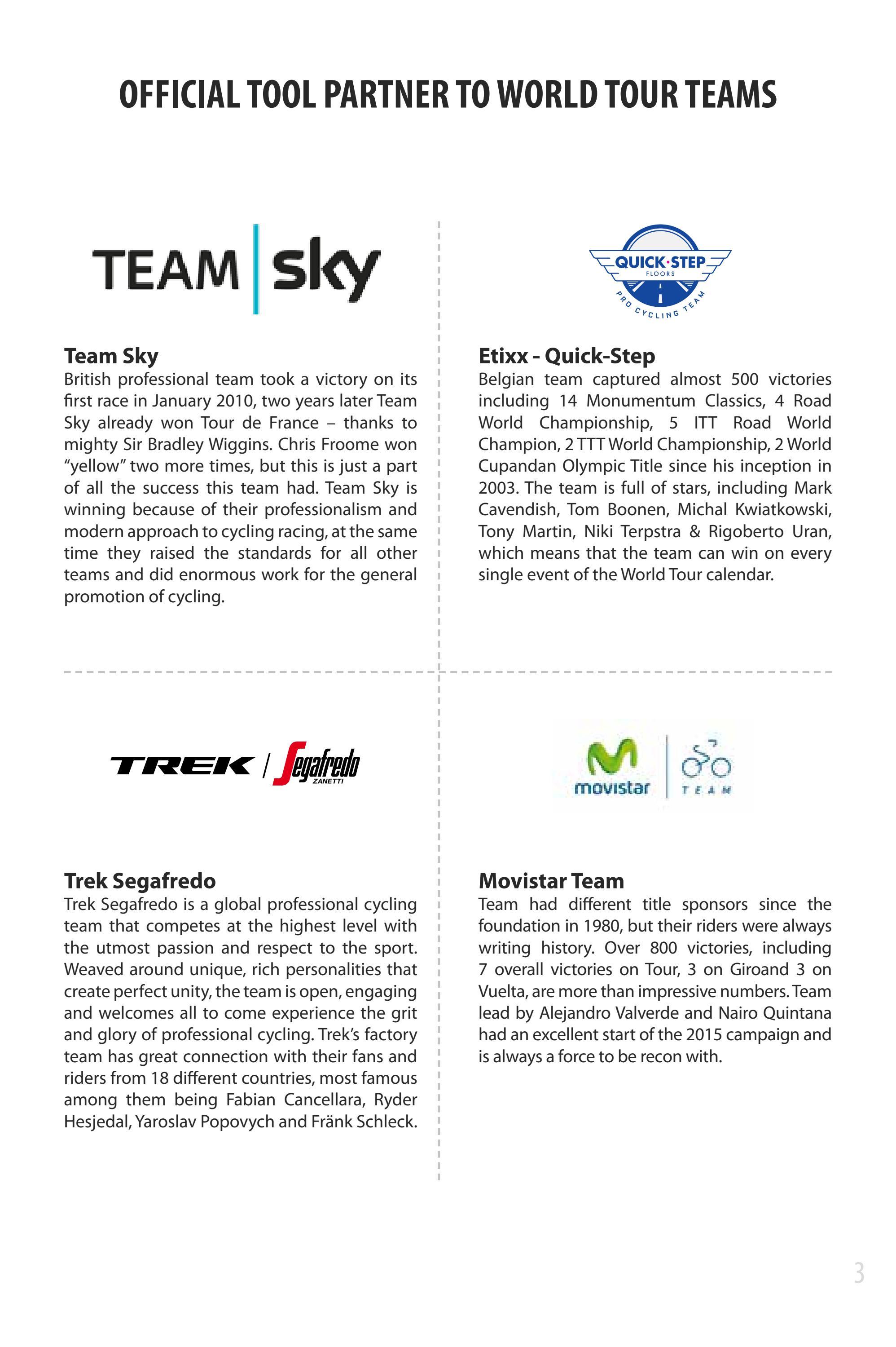 Unior bike tools catalogue en 2018