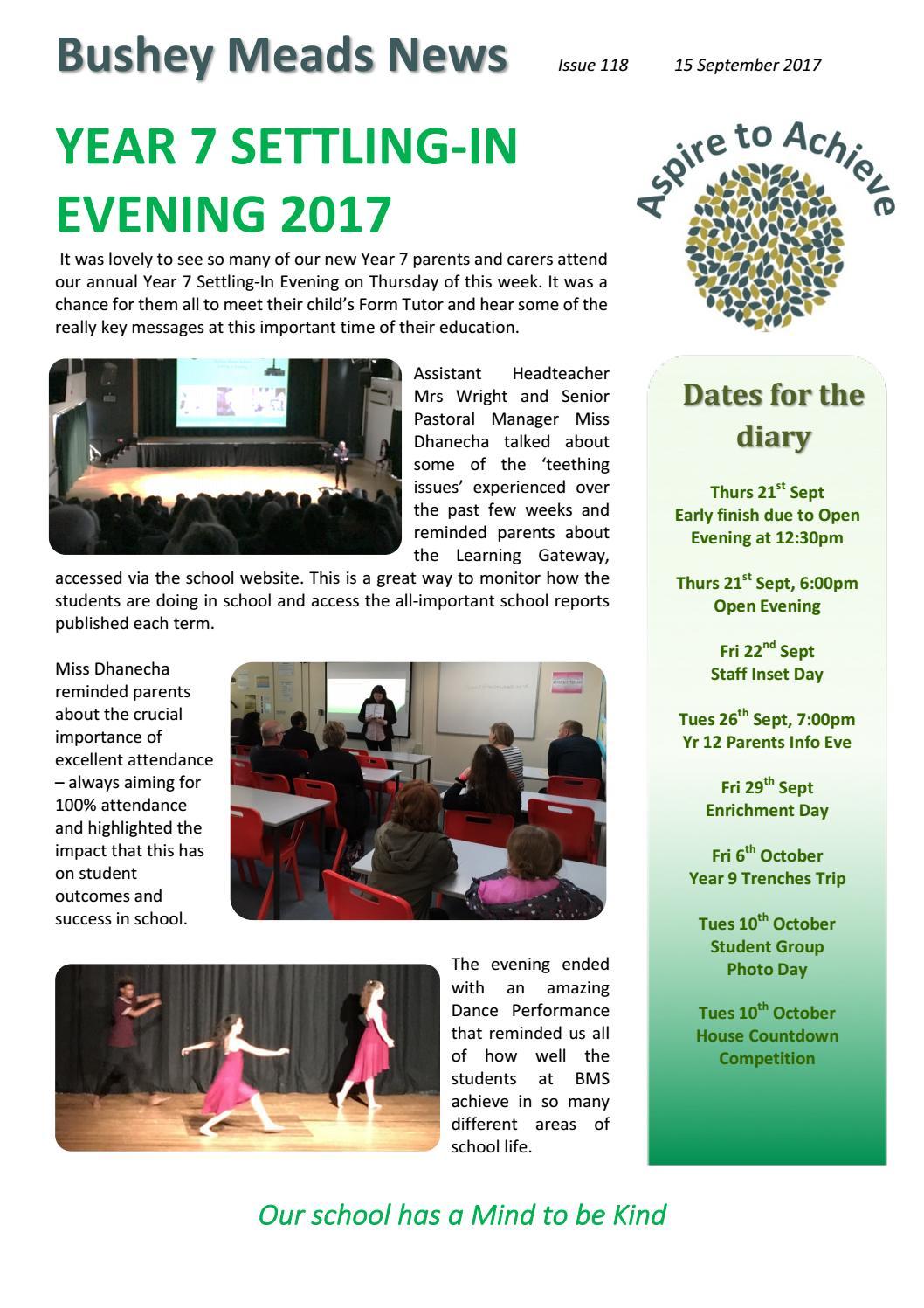 bushey meads news 15 september 2017 by bushey meads school issuu
