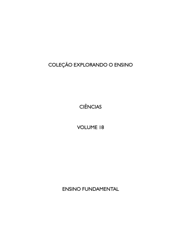 92c586bc08f Coleção Explorando o Ensino vol.18