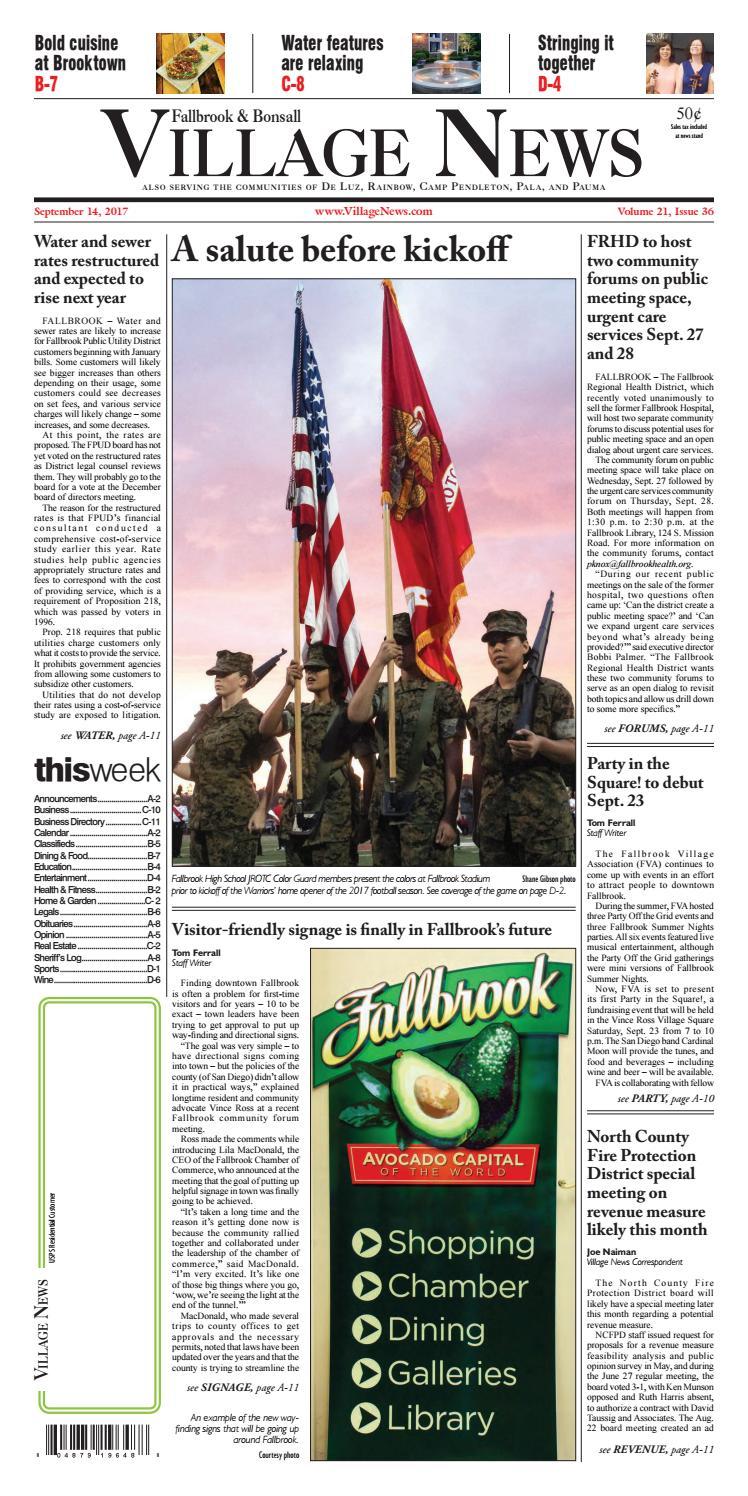4e3b510a8a79 Fallbrook Village News by Village News
