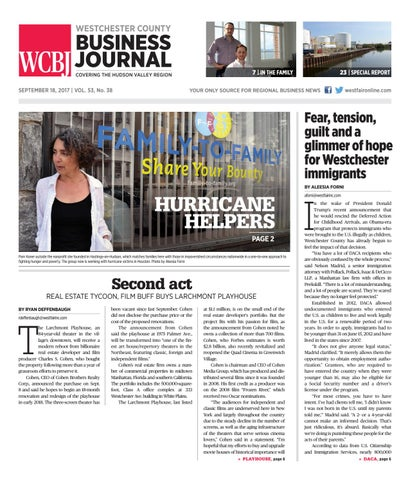 Westchester County Business Journal 091817 By Wag Magazine