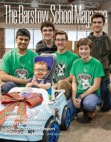 The Barstow School Magazine By The Barstow School Issuu