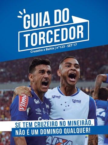Guia do Torcedor Nº 123 - Cruzeiro x Bahia - Set 17 by Cruzeiro ... 8efc356938ce6