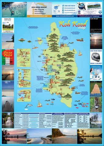 Koh Kood and Koh Mak Map 2018 by The Koh Chang Guide issuu