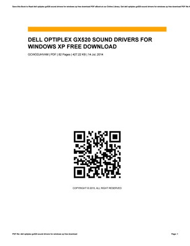 driver son dell optiplex gx520