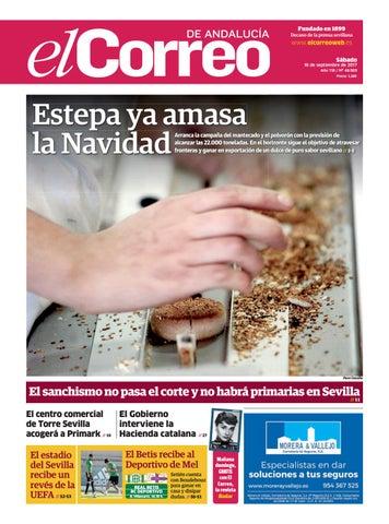 152c16a727 16.09.2017 El Correo de Andalucía by EL CORREO DE ANDALUCÍA S.L. - issuu