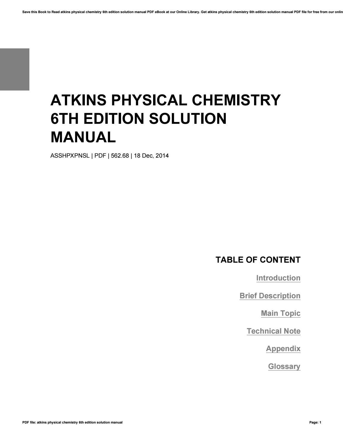 Chemistry Glossary Pdf