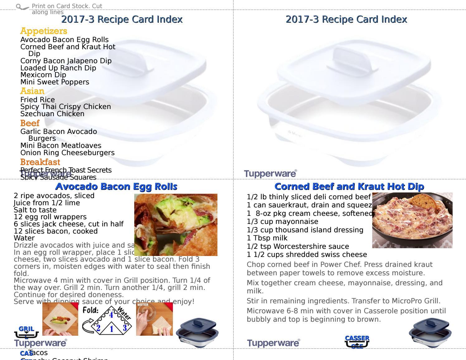 Casser Un Bar De Cuisine 2017 3 micropro grill recipe cards~~sherry ashberger - issuu