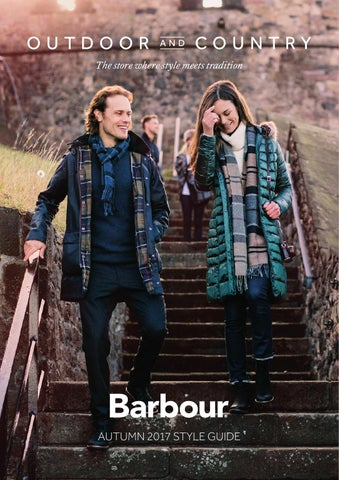 a9ae6432756 Barbour Autumn 2017 Style Guide by Outdoor and Country - issuu