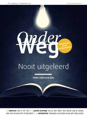 Jasper Klapwijk Winsum.Ow 3 17 Leren In De Kerk By Onderwegonline Issuu