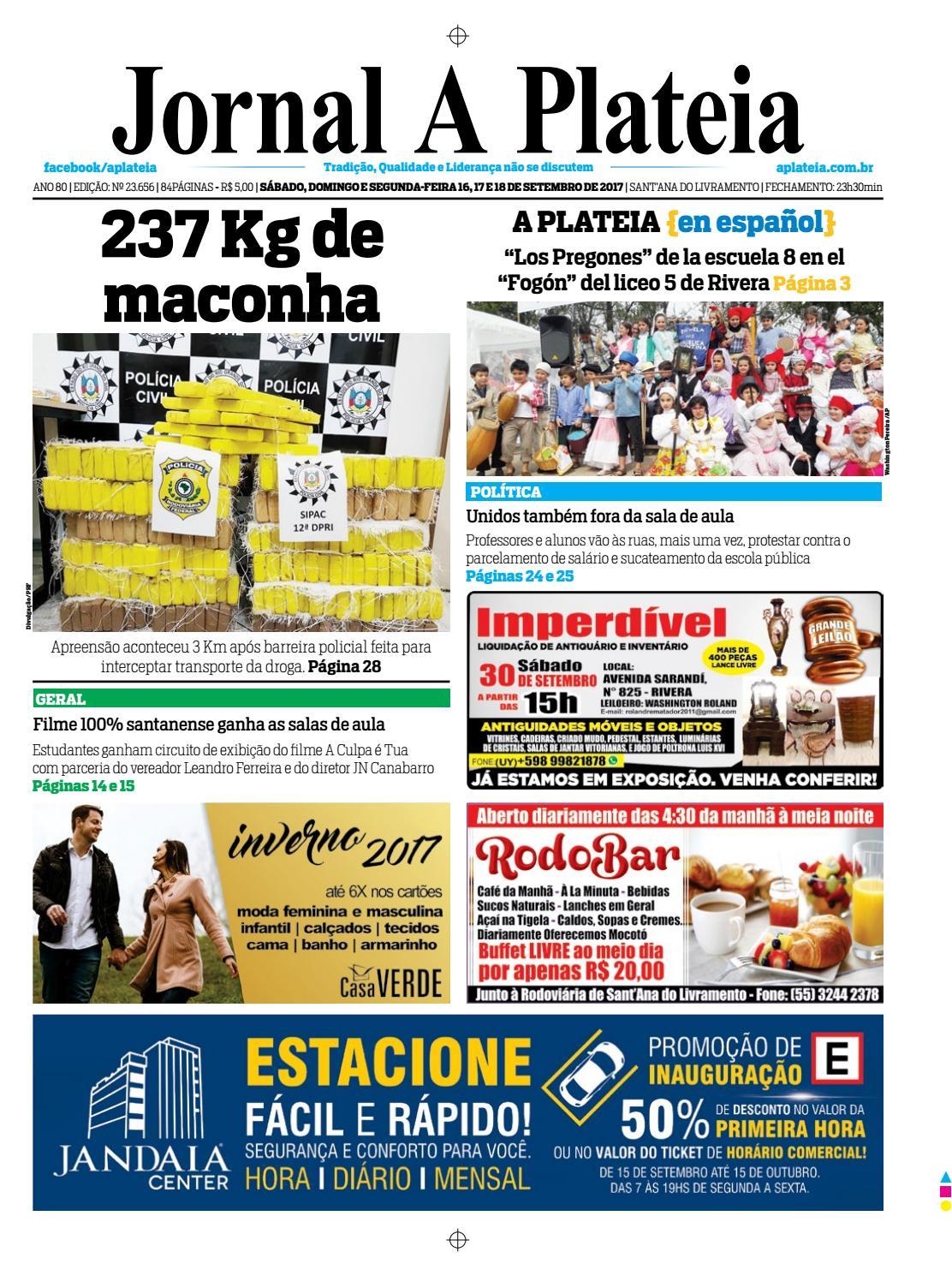 0c0fcfa27f79e 20170916 by Jornal A Plateia Livramento - issuu