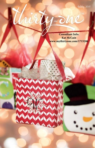 Thirty one gifts holiday gift guide winter 2017 2018 by kat mccain holiday 2017 negle Gallery