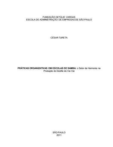 584f3de555 Práticas organizativas em escolas de samba  o setor de harmonia da ...