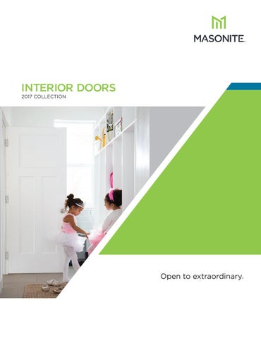 2017 Masonite Interior Door Catalog By Door Depot Issuu