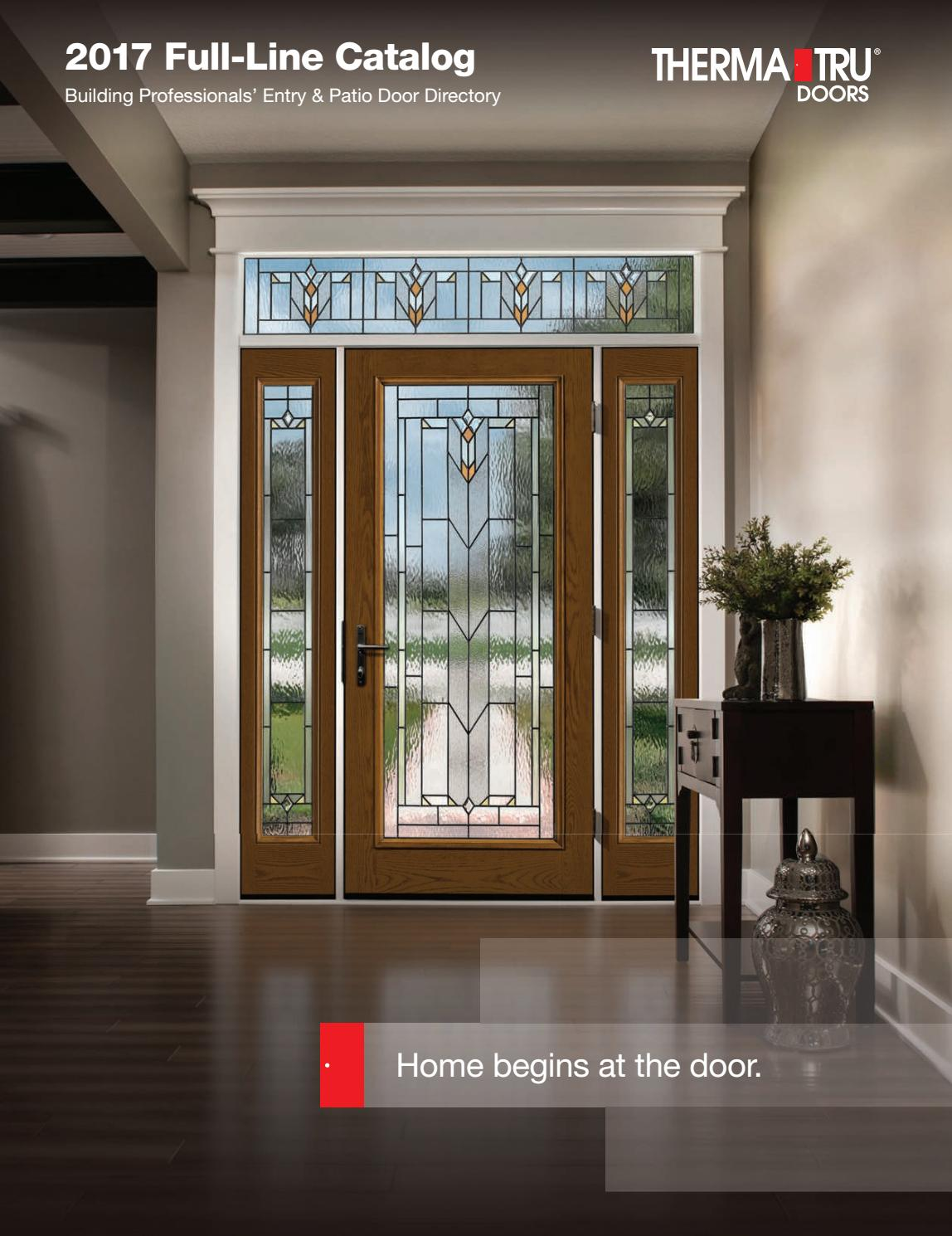 2017 Thermatru Catalog By Door Depot Issuu