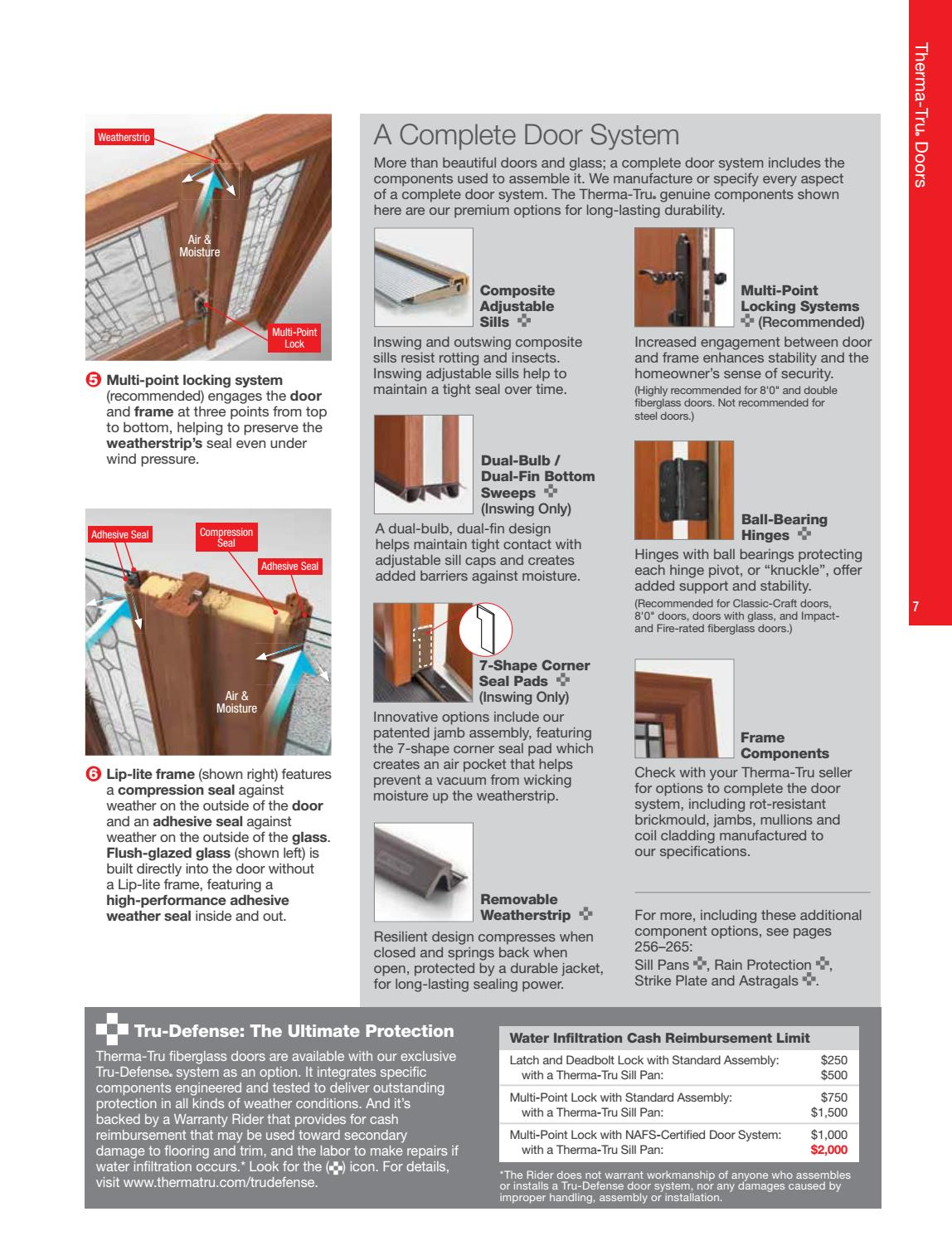 2017 thermatru catalog by Door Depot - issuu