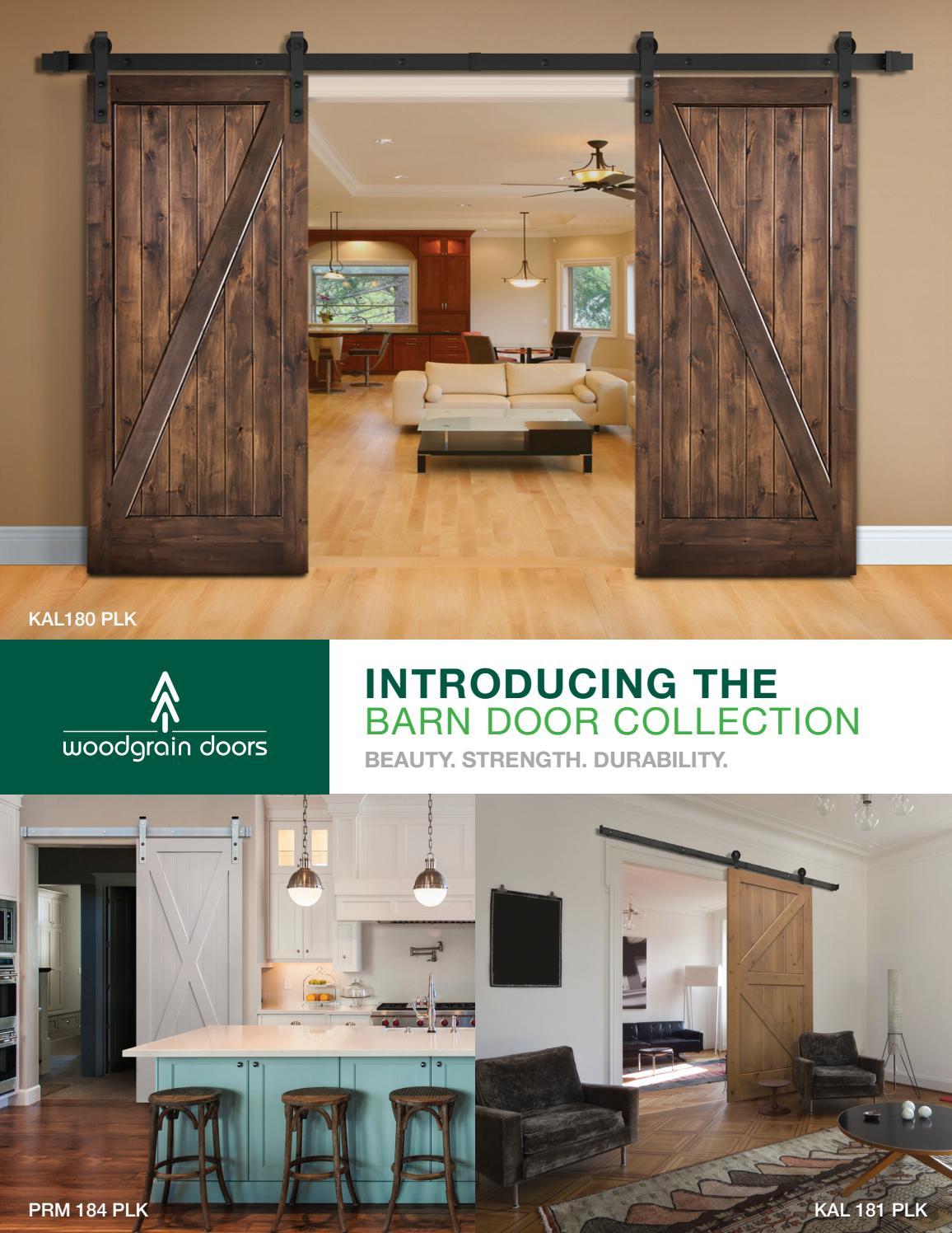 Barn Doors Woodgrain By Door Depot Issuu