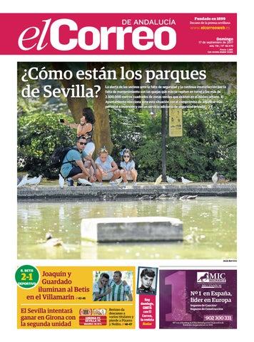 17.09.2017 El Correo de Andalucía by EL CORREO DE ANDALUCÍA S.L. - issuu