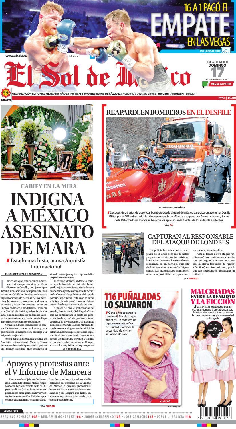 Impreso170917 by El Sol de México - issuu 186fa18147b