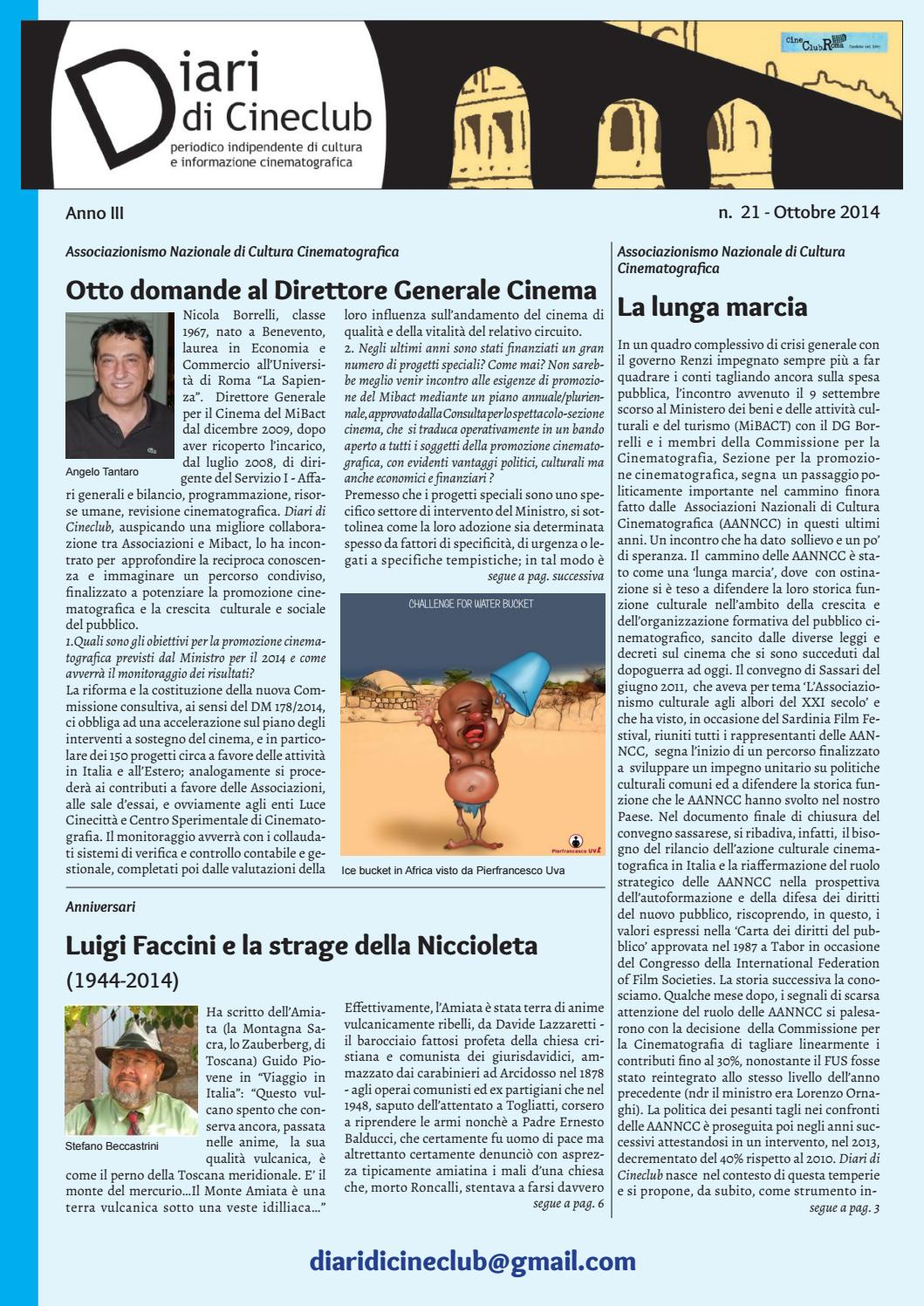 Diari di Cineclub - Numero 21 (Ottobre 2014) by Band Apart - issuu ac8fe1ac9