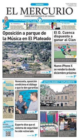 hemeroteca 17-09-2017 by Diario El Mercurio Cuenca - issuu