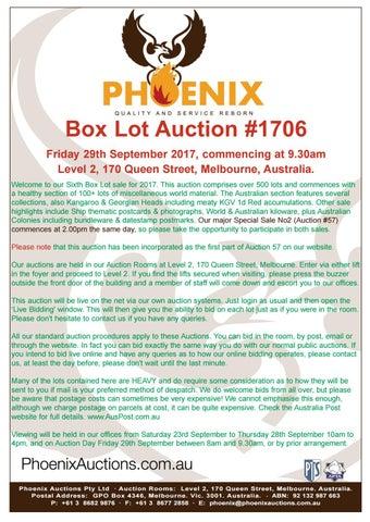6751e1240600 Box Lot Auction #1706 by Phoenix Auctions Pty Ltd - issuu