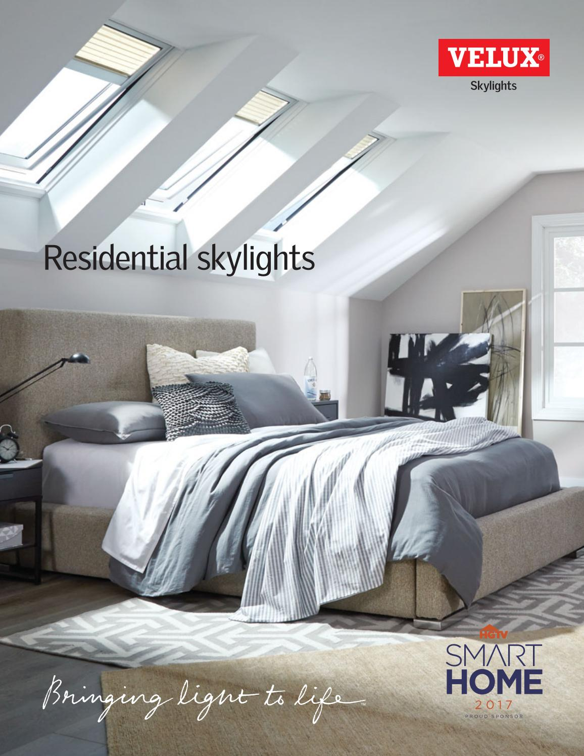 Velux skylights by horner millwork issuu for How to clean velux skylights