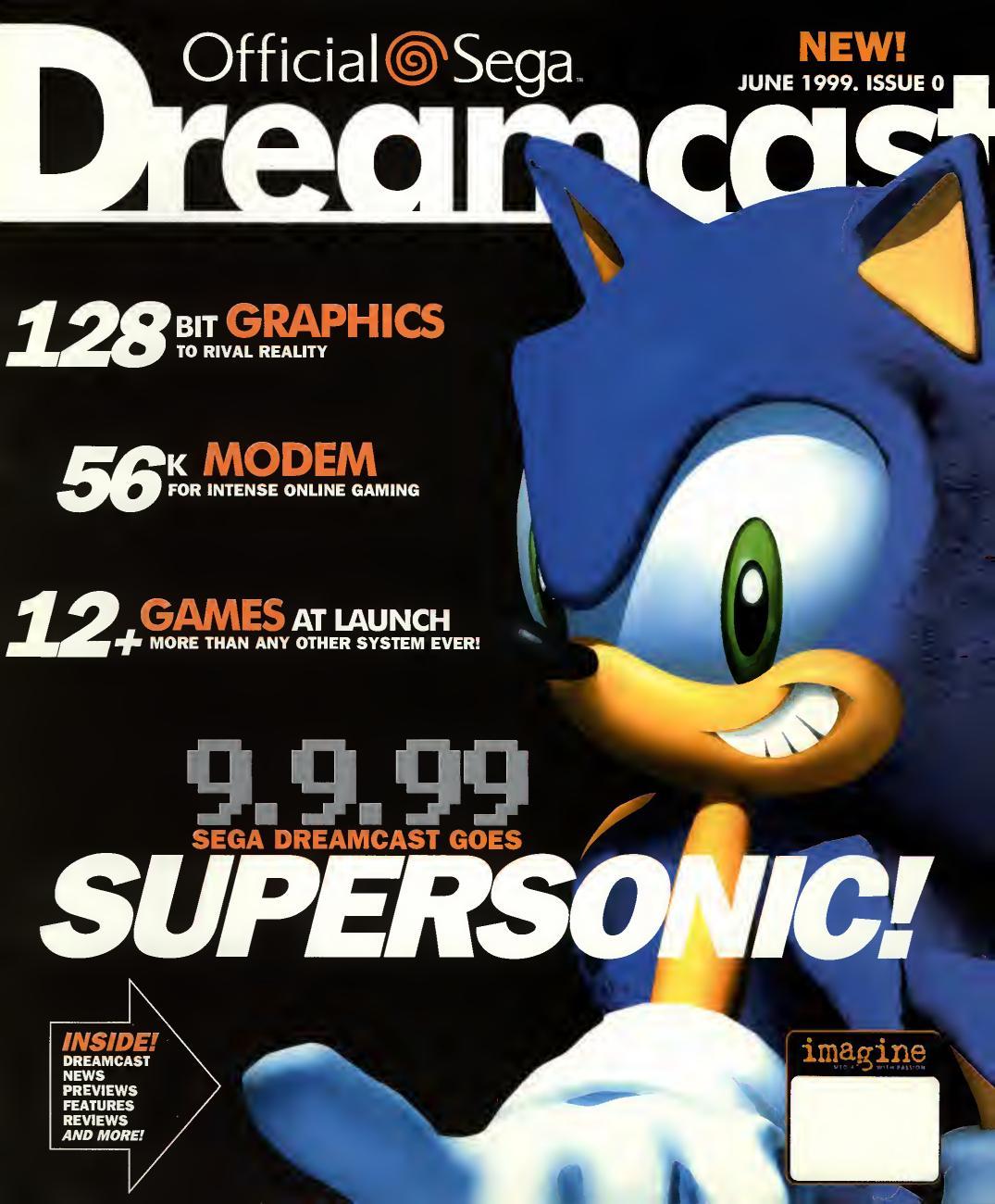 Official Sega Dreamcast 0 Jun 1999 By Willzera Issuu