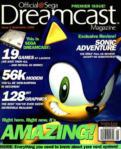 Official sega dreamcast 1 sep 1999 by Willzera - issuu