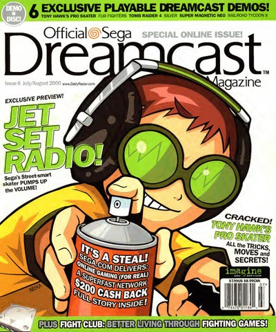 Official sega dreamcast 6 julaug 2000 by Willzera - issuu