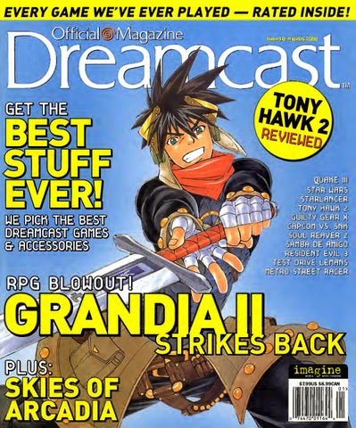 Official sega dreamcast 10 holiday 2000 by Willzera - issuu