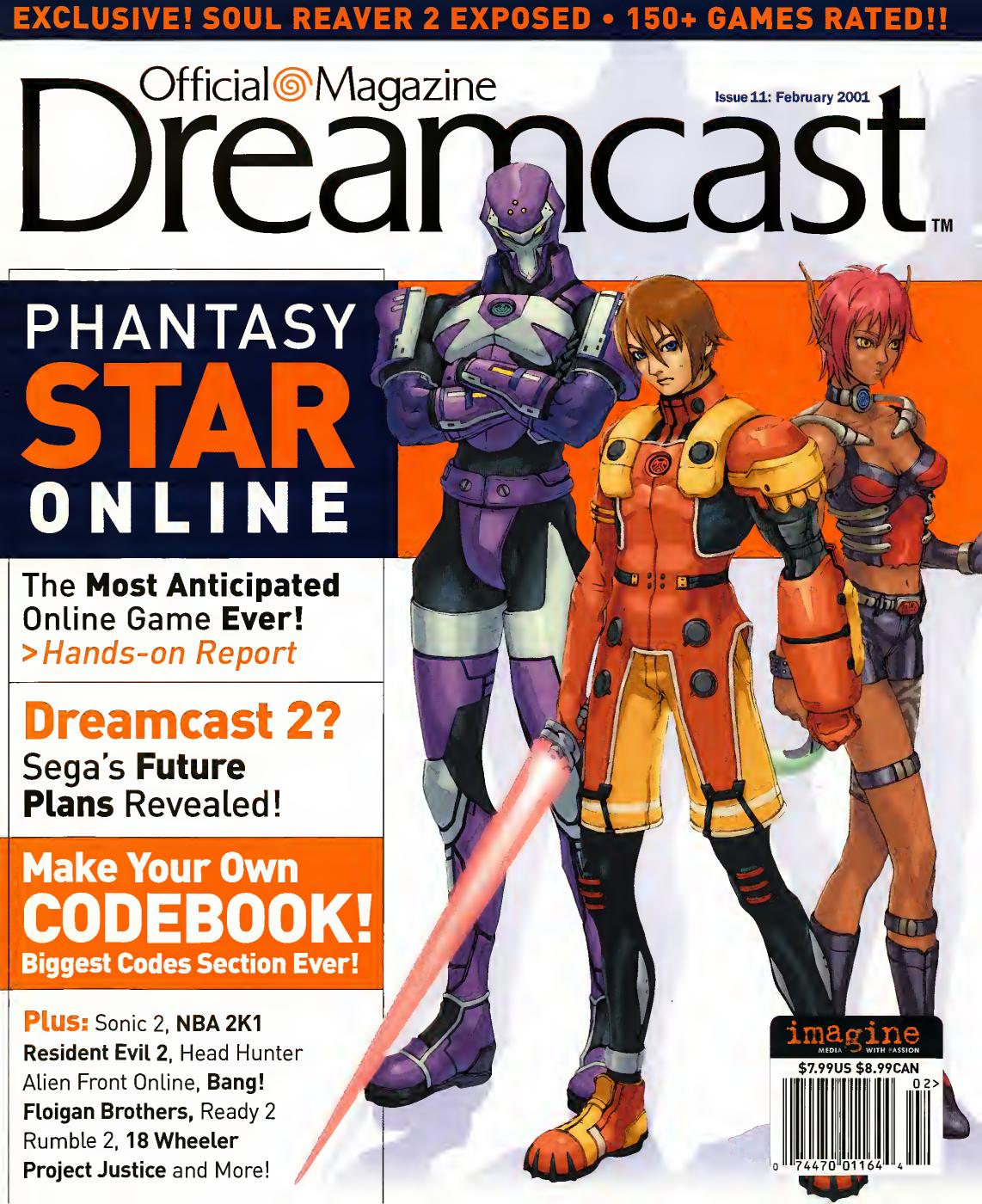 8cc13d93 Official sega dreamcast 11 feb 2001 by Willzera - issuu