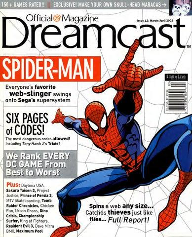 Official sega dreamcast 12 marapr 2001 by Willzera - issuu